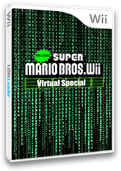 Challenging Super Mario Bros. Wii: Virtual Special CUSTOM cover (SMNEZC)