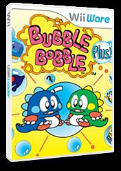 Bubble Bobble Plus! WiiWare cover (WBLE)