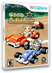Family Go-Kart Racing WiiWare cover (WFKE)