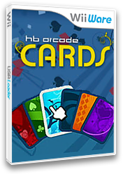 HB Arcade Cards WiiWare cover (WLGE)
