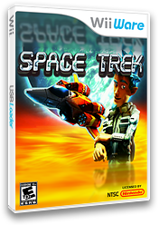 Space Trek WiiWare cover (WSRE)