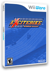 Excitebike: World Rally WiiWare cover (WWRE)