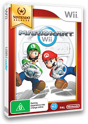 Mario Kart Wii Wii cover (RMCP01)