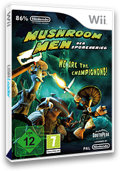 Mushroom Men: Der Sporenkrieg Wii cover (RM9PGM)