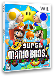 DU Super Mario Bros. : Anniversary Edition CUSTOM cover (DUAP01)