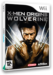 X-Men Origins: Wolverine Wii cover (RWUP52)