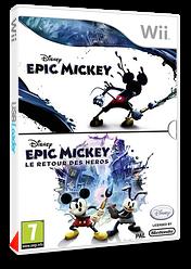 Disney Epic Mickey pochette Wii (SEMP4Q)