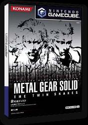 メタルギアソリッド ザ・ツインスネークス GameCube cover (GGSJA4)