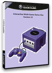 Interactive Multi-Game Demo Disc - Version 12 GameCube cover (D85E01)