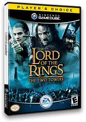 The Lord of the Rings: The Two Towers GameCube cover (GLOE69)