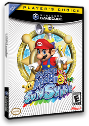 Super Mario Sunshine GameCube cover (GMSE01)