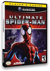 Ultimate Spider-Man GameCube cover (GUTE52)
