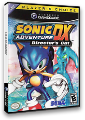 Sonic Adventure DX: Director's Cut GameCube cover (GXSE8P)