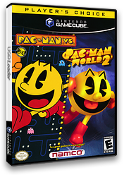 Pac-Man vs. GameCube cover (PRJE01)