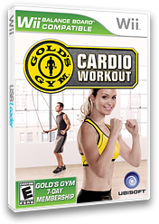 Gold's Gym: Cardio Workout Wii cover (REKE41)