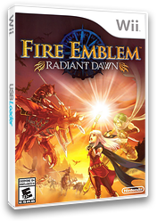 Fire Emblem: Radiant Dawn Wii cover (RFEE01)