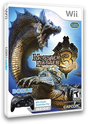 Monster Hunter Tri Wii cover (RMHE08)