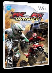 MX vs. ATV: Untamed Wii cover (RMXE78)