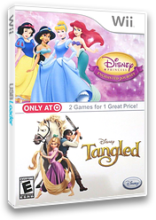 Disney Princess: Enchanted Journey Wii cover (RPSE4Q)