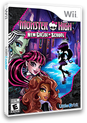 Monster High: New Ghoul in School Wii cover (S5MEVZ)