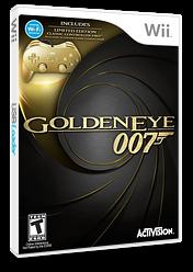 GoldenEye 007 Wii cover (SJBE52)