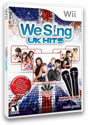 We Sing UK Hits Wii cover (SUQENG)