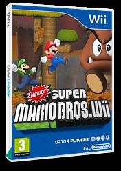 Newer Super Mario Bros. Wii CUSTOM cover (SMNP03)