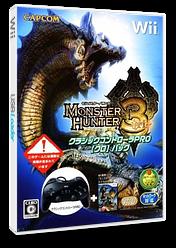 モンスターハンター3 Wii cover (RMHJ08)