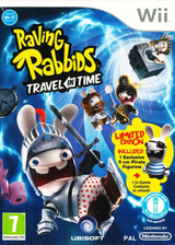 Raving Rabbids:Travel in Time Wii cover (SR4P41)