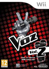 La Voz Vol. 2 Wii cover (SX9PRV)