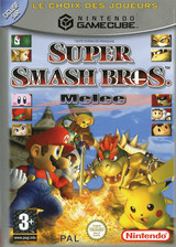 Super Smash Bros. Melee pochette GameCube (GALP01)