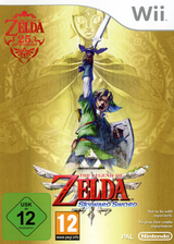The Legend of Zelda:Skyward Sword pochette Wii (SOUP01)
