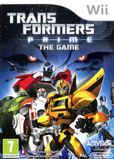 Transformers Prime: The Game Wii cover (STFP52)