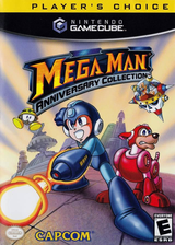 Mega Man Anniversary Collection GameCube cover (G6QE08)