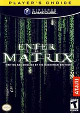 Enter The Matrix GameCube cover (GMXE70)