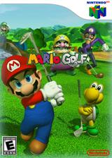 Mario Golf VC-N64 cover (NAUE)
