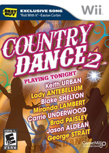 Country Dance 2 Wii cover (S2BEPZ)