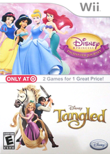 Disney Tangled Wii cover (SRPE4Q)