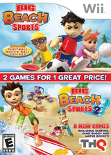 Big Beach Sports 2 Wii cover (SV2E78)