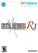 Crystal Defenders R1 WiiWare cover (WCIE)