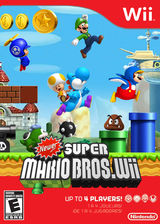Newer Super Mario Bros. Wii CUSTOM cover (SMNE03)