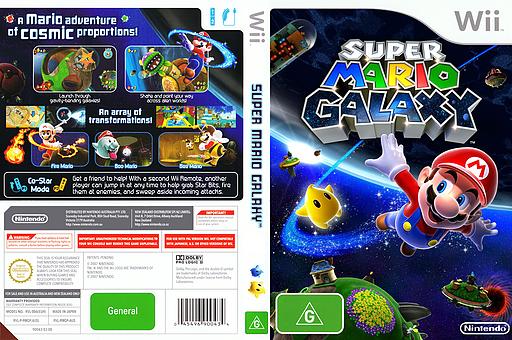Super Mario Galaxy Wii cover (RMGP01)