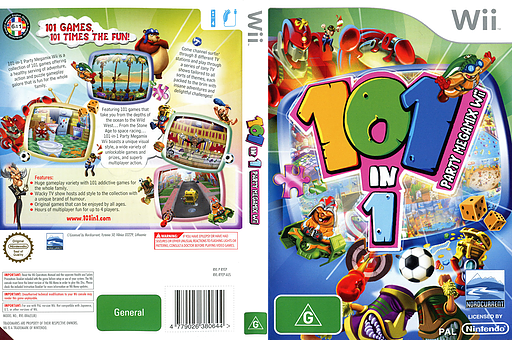 101-in-1 Party Megamix Wii cover (RYEPHZ)