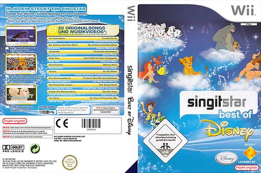 SingItStar: Best of Disney CUSTOM cover (DMSP4Q)