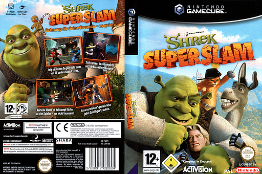 Shrek Super Slam GameCube cover (G3YY52)