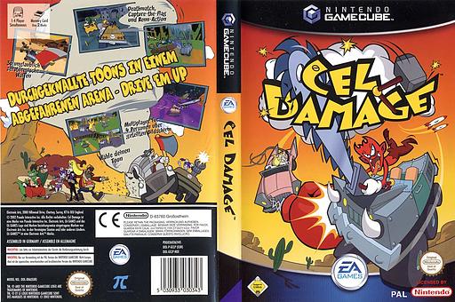 Cel Damage GameCube cover (GCLP69)