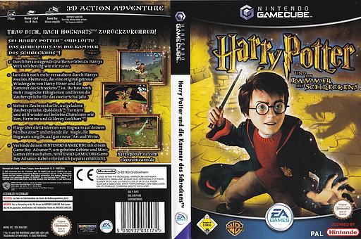 Harry Potter Und Die Kammer Des Schreckens GameCube cover (GHSY69)