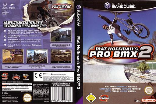 Mat Hoffman's Pro BMX 2 GameCube cover (GMHP52)