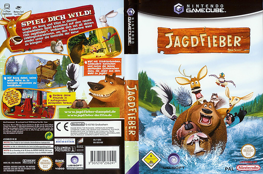 Jagdfieber GameCube cover (GOSX41)