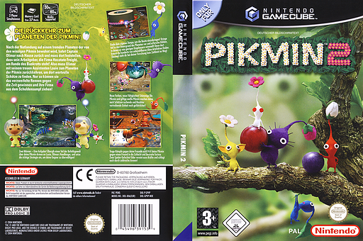 Pikmin 2 GameCube cover (GPVP01)